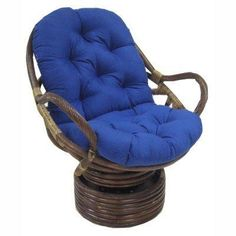 Update your swivel rocker papasan chair with a brand new cushion. The Blazing Needles 24 in. Swivel Rocker Cushion is a comfortable, deeply. Patio Chair Cushions, Outdoor Cushions, Outdoor Chairs, Indoor Outdoor, Dining Chairs, Papasan Cushion, Papasan Chair, Swivel Rocker Chair, Rocking Chair