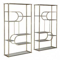 Enzo Tall Shelf Tall Shelves Shelves Glass Wall Shelves