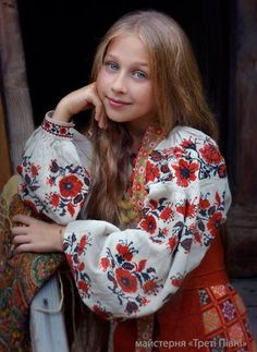 Ukraine, from Iryna Folk Fashion, Ethnic Fashion, Womens Fashion, Ukraine, Polish Embroidery, Eslava, Ethno Style, Russian Fashion, Russian Beauty