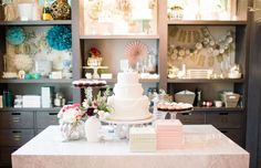 Desserts at The Everygirl Event at BHLDN // by Sprinkles Cupcakes & Celestial Kitchens