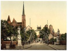 Zdjęcie numer 10 w galerii - Niemiecki Wrocław na kolorowych zdjęciach z amerykańskiej Biblioteki Kongresu