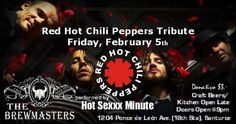 Hot Sexxx Minute: Red Hot Chili Peppers Tribute #sondeaquipr #hotsexxxminute #redhotchilipeppers #thebrewmasterspr #santurce #sanjuan
