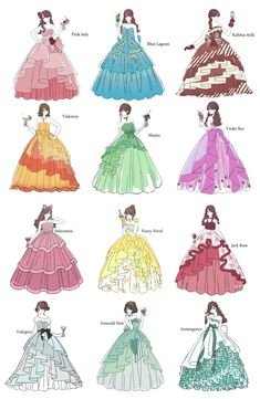 Dress Design Drawing, Dress Design Sketches, Dress Drawing, Fashion Design Drawings, Fashion Sketches, Manga Clothes, Drawing Anime Clothes, Old Fashion Dresses, Anime Girl Dress