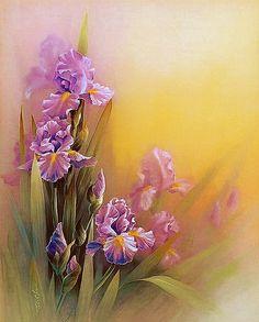 Arte Floral, Angel Art, Still Life, Decoupage, Glass Vase, Art Gallery, Framed Prints, Watercolor, Drawings