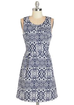 ModCloth Carries Casual Dresses And Day Dresses In A Variety Of Unique Styles & Sizes. Shop Stylish Casual Dresses At ModCloth Today. Cute Casual Dresses, Dresses For Work, Summer Dresses, Retro Vintage Dresses, Vintage Outfits, Navy And White Dress, Mod Dress, Indie Outfits, Indie Fashion