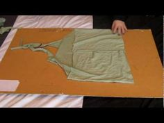 Make a large t-shirt into a fitted halter neck, what could be easier?! - YouTube