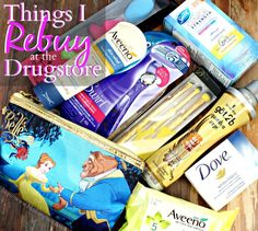 Things I Repurchase at the Drugstore
