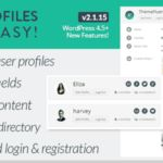 User Profiles Made Easy Download UPME Nulled Plugin Free User Profiles Made Easy Nulled Plugin User Profiles Made Easy v2.1.10Licence User Profiles Made Easy Latest Version Nulled Plugin User Profiles Made Easy WordPress Nulled Plugin Download User Profiles Made Easy Nulled Plugin Codecanyon User Profiles Made Easy Nulled Plugin  User Profiles Made Easy (UPME) is a full featured front-end profile login and registration plugin for WordPress. It is user-friendly fully responsive and works with…