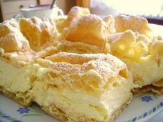 Recipes for polish apple cake - Best cake recipes Yummy Treats, Sweet Treats, Yummy Food, Tasty, Pastry Recipes, Cake Recipes, Cooking Recipes, Hungarian Cake, Polish Recipes