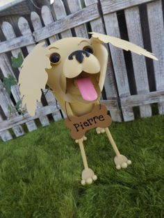 Personalized Golden Retriever or Labrador by IngridsSecretGarden, $45.00