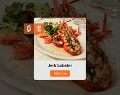 This marine crustacean is considered a delicacy and many people love its rich taste. Plump lobster tails smothered in melted butter infused with a blend of local herbs and spices and cooked to perfection makes jerk lobster a delectable choice among seafood lovers.