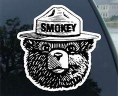 """Smokey the Bear Firefighting WILDFIRE sticker decal (2"""" (... https://www.amazon.com/dp/B01KKOI8PO/ref=cm_sw_r_pi_dp_x_ZTszzbEPFSKQE"""