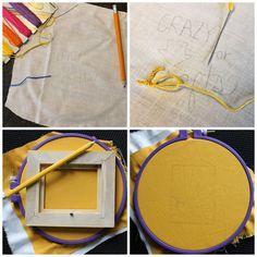 Beginner Embroidery- Cheap Art Week