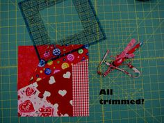 My first experiment with quilting began in the crazy arena when I saw this technique on a television show. I loved that nothing really ne...