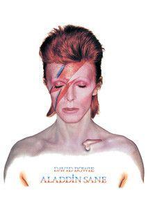 David Bowie Aladdin Sane Postcard - PopCultureSpot.com | Bobble Heads & Kitsch Shop