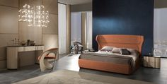CarpanelliContemporary Made in Italy luxury furnishings , interior design , exclusive projects. Furniture and tailored made projects. High Headboards, Double Beds, Luxurious Bedrooms, Relax, Living Room, Interior Design, Luxury, House, Furniture