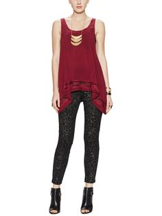 Leopard Graphic Legging from What to Wear: Girls' Night Out on Gilt