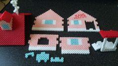 DIY Kame House - Dragon Ball Z perler beads