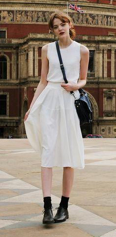 Piper Vegan Leather Skirt