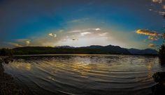 Tramonto sul Lago Piccolo di Avigliana  #myValsusa 27.07.16 #fotodelgiorno di Fabio Santini