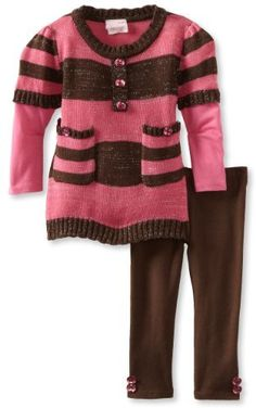 Nannette Baby-Girls Infant 2 Piece Knit Sweater Set:Amazon:Clothing