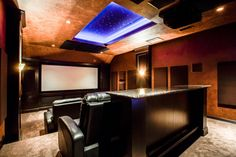 State of the Art Theater and Game Room http://www.DFWImproved.com #TheaterRoom #GameRoom