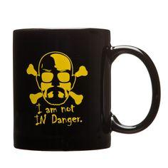 I am the Danger Coffee Mug (Black)