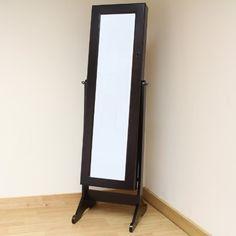 KNAPPER Floor mirror, white | Floor mirror, Dressing room and Flats