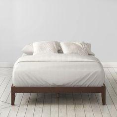 marissa wood platform bed frame | Platform Beds  #decor #homedecor #bedroom #furniture #platformbed #mattressnut