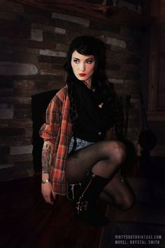 Vintage Mystery Hipster/Grunge Flannel Shirts/Multi Colors & Styles