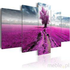 Obraz - Fioletowa kraina, Artgeist - Wyposażenie wnętrz