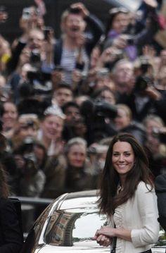 Last day as Kate Middleton