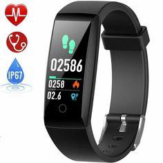 Smart Bracelet Connect/é Sport Fitness Tracker Podom/ètre Calories Sommeil Bracelet avec /Écran Tactile Fitness Montre Connect/ée Parsion Montre Connect/ée Bluetooth 4.0 Tracker dactivit/é