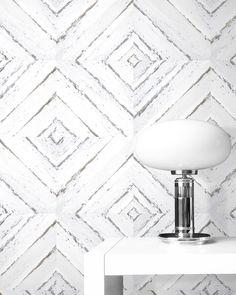 White wood wallpaper | Distressed vintage wood | White Wood Wallpaper | Rustic | Geometric design | Scandinavian Design | Minimalist design