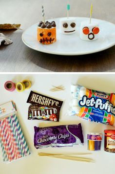 How to Make Marshmallow Monsters | DIY Kids Halloween Party Ideas | DIY Halloween Crafts for Kids to Make