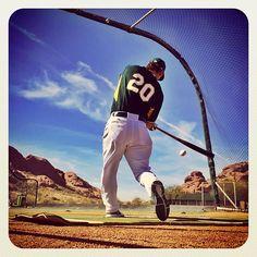 2014 Spring Training Instagrams - Josh Donaldson Athletics