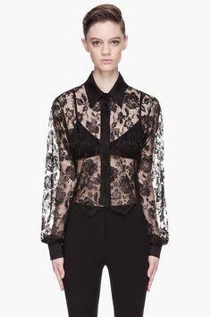 Gorgeous black lace