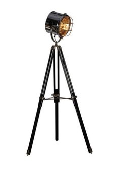 Hollywood Tripod Lamp//