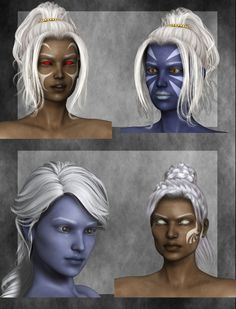 A V5 Texture set for Genesis created for use in Poser 9
