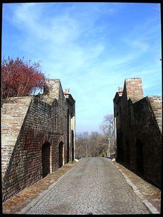 Petrovaradin`s Gate - Petrovaradin, Vojvodina