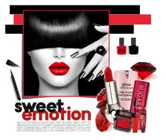 """""""Sweet Emotion!"""" by sherri-2locos ❤ liked on Polyvore featuring beauty, Make, RGB, Rimmel, Bobbi Brown Cosmetics and Urban Decay"""