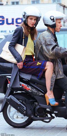 streetstyle Paris Fashion Week S/S'14