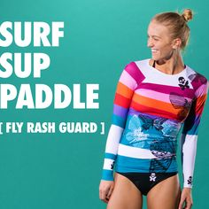 Bettys were born to hit the water! Do it BettyStyle in our new Fly Rash Guard. The perfect companion for all your summer workouts. http://www.bettydesigns.com/collections/what-s-new/products/fly-champion-rash-guard