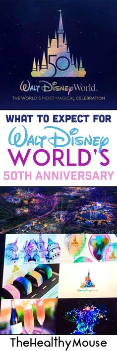 to expect for Walt Disney World& anniversary celebration - coming. What to expect for Walt Disney World's anniversary celebration - coming. What to expect for Walt Disney World's anniversary celebration - coming. Secrets Disney, Disneyland Secrets, Disney World Tips And Tricks, Disney Tips, Disney Magic, Disney World Resorts, Disney World Planning, Disney World Trip, Disney Vacations