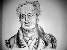 Johann Wolfgang von Goethe by Jeanned4rt