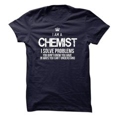 I Am A Chemist - #gift for girls #college gift. LIMITED TIME => https://www.sunfrog.com/LifeStyle/I-Am-A-Chemist-44501618-Guys.html?68278