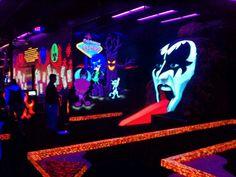 KISS Monster Mini-Golf in Las Vegas, NV
