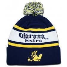 b26273e87fdb0 Corona Extra Griffin Patch Beanie. Knit Beanie