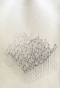 Geometric topography art or something