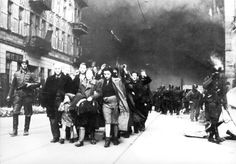 Warsaw, Poland, An arrest in the ghetto.